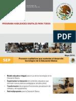 Programa Habilidades Digitales Para Todos