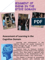 Assessment of Learning in the Cognitive Domain
