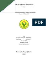 Asas Pendidikan Indonesia
