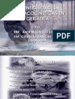Farmacocinetica en Geriatria