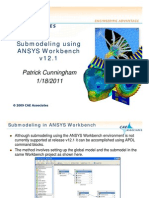 Submodeling Using ANSYS Workbench