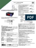 EC2-111 Universal Controller