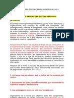 RESUMEN CLASES DE PSICOBIOLOGÍA NÚMEROS 8