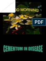Cementum in Disease[Nalini]