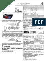 EC2-712 Condenser Controller