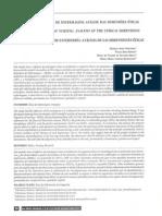 Artigos científicos de enfermagem - análise das dimensões éticas
