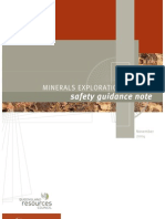 Minerals Exploration Safety Guide_QLD2004