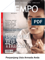 Tempo Edisi Khusus Wiji Thukul Kumpulan Puisi Para Jenderal Marah-Marah_2