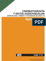 Curso de Camara y Foto Cine y Tv