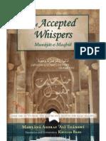 The Accepted Whispers - Munajat-E-Maqbul by Mawlana Ashraf Ali Thanawi
