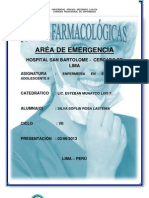 Fichas Farmacologicas EMERGENCIA