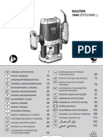 Manual freza Bosch