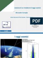 Gestione dell'alta tensione in un rivelatore di raggi cosmici