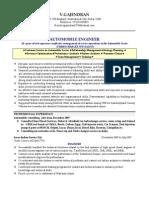 Gajendran Vadivelu- Resume