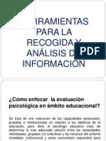 Herramientas para la evaluación y estrategias pscopedagogicas.ppt