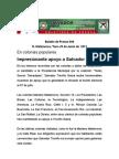 Impresionante apoyo a Salvador Treviño