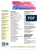 FFSC Workshops July 2013