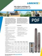 Lorentz Ps c General Es Bombas DC con control solar