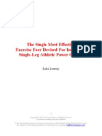 The Single Most Effective Exercise