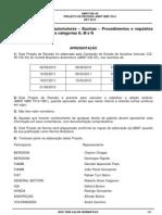 Veículos rodoviários automotores – Buzinas – Procedimentos e requisitos de ensaio para veículos categorias G, M e N-161012
