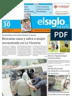 Elsiglo Eje Este Domingo 30-06-2013