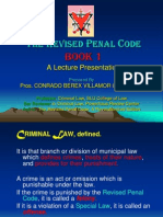 Revised Penal Code - Book 1