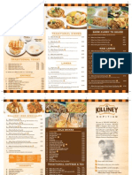 Killiney Menu