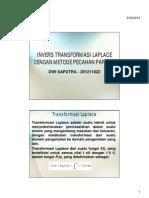 Soal Transformasi Laplace (Dwi Saputra 201211022)