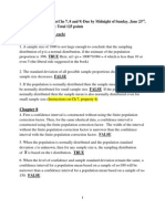 Summer 578 Assignment 3 Solutions