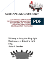 Government CIO Competencies