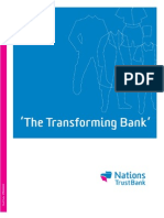 Nations Trust Bank Annual Report 2008