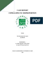 case report cephalopelvic disporpotion