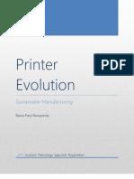 Printer Evolution