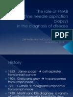 The Role of FNAB (Fine Needle Aspiration