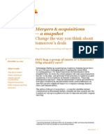 PWC - Mergers and Acqusitions - Snapshot - Asset vs Business