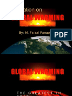 Global Warming Presentation - Seminar in Business Communication