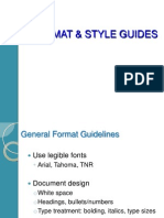Format & Style Guidelines (3)