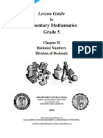 LG MATH Grade 5 - Ratl.nos.Div.dec. v2.0