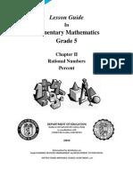 LG MATH Grade 5 - Ratl.nos.Percent v2.0