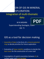 GIS in MIneral Exploration