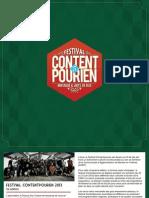 Demandez Programme Festival Contentpourien