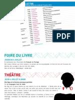 La Lettre de l'IFM Du 30 Juin Au 12 Juillet 2013