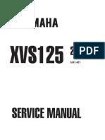 Yamaha XVS 125 '00 - Service Manual