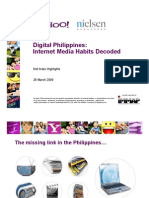 Yahoo-Nielsen Net Index 2009 Highlights
