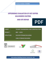 1-Appearance Evaluation of Hot-Dipped Galvanized Coating Cover