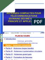 1 - Antennes compactes