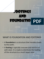 Footings and Foundation - Engineering