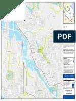 Flooding Coopers Plains Flood Flag Map
