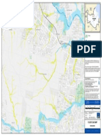Flooding Enoggera Flood Flag Map