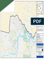 Flooding Ferny Grove Flood Flag Map